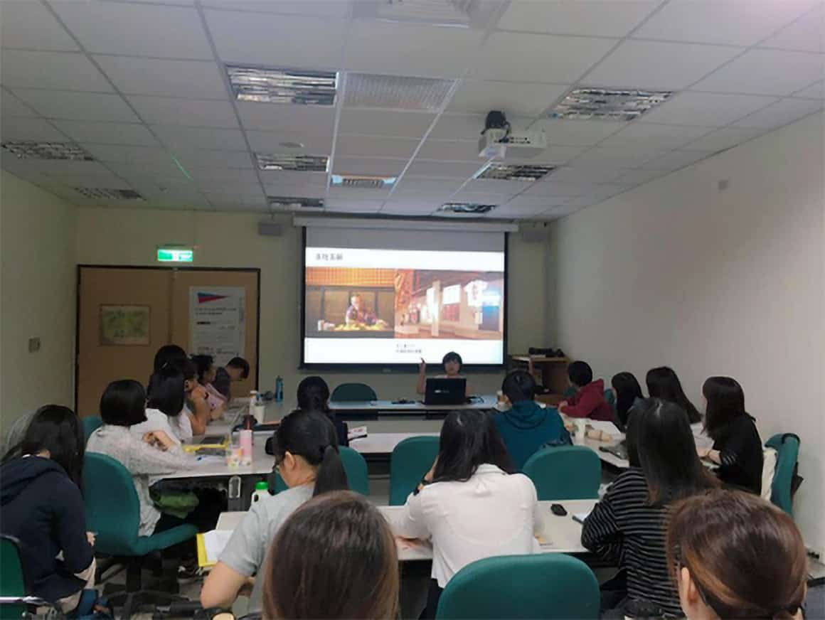 講座開始前,先由博館所碩三陳妍君同學介紹今年「大溪大禧」活動